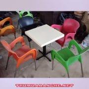 Bộ Bàn Ghế Cafe Nữ Hoàng Cũ Giá Rẻ -1