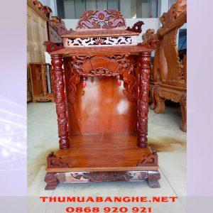 Thanh Lý Bàn Thờ Ông Địa Gỗ Xoan 60 BT27 -1