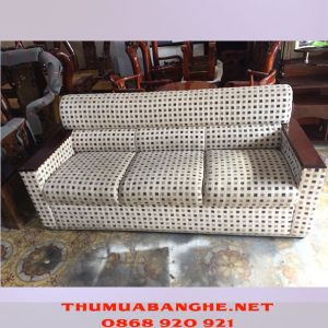 Thanh Lý Ghế Sofa Chi Lai Chấm Vuông -1
