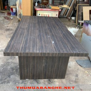 Thanh Lý Bàn Họp 1m8 Màu Xám Lông Chuột -1