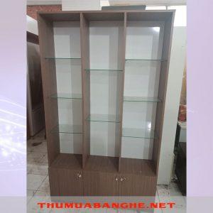 Thanh Lý Tủ Trưng Bày 1m x 2m Ngăn Bậc Thang -1