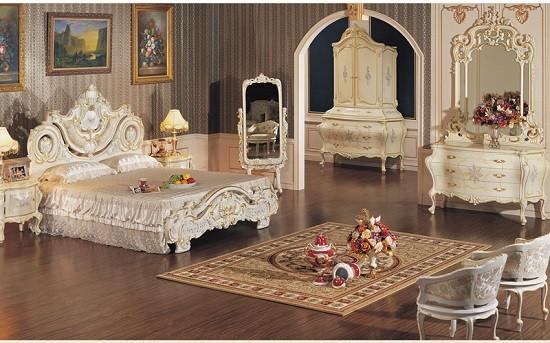 Giường cổ điển cao cấp