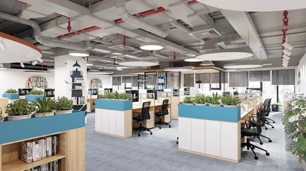 Mẫu thiết kế nội thất văn phòng số 2