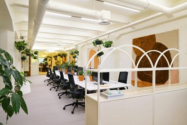 Mẫu thiết kế nội thất văn phòng số 3